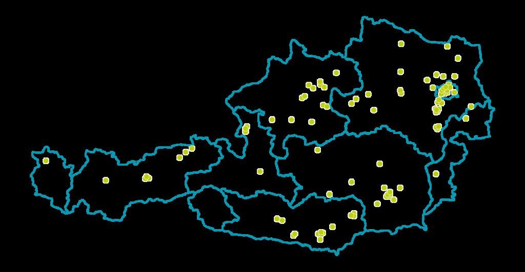 oesterreichkarte eap beratungen 2021 standorte